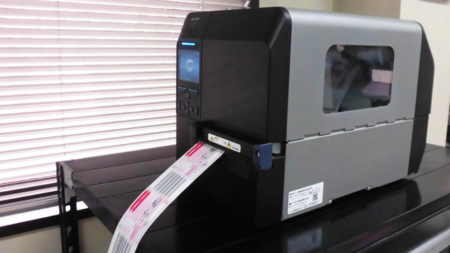 PD label issuing machine